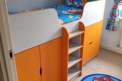 FITTED CABIN BED
